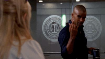 "Because um…this. | 25 Reasons To Love Derek Morgan From ""Criminal Minds"" @143cnm   DRRRRRRRROOOOOOOOOOOOOOOLLLLLLLLLL!"