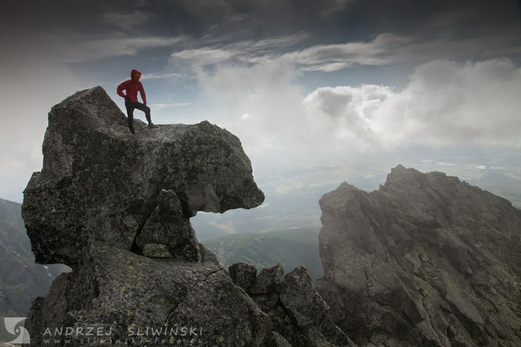 Hiking in the Tatra Mountains. #mountainphotography