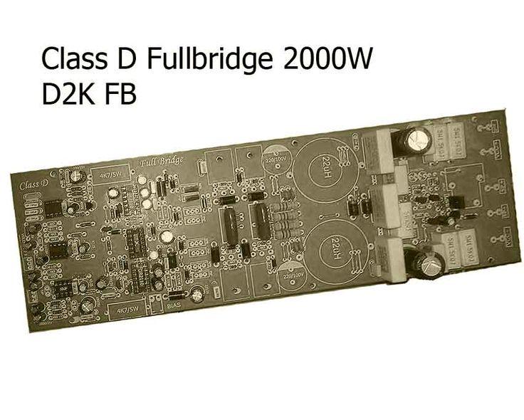 Class D full bridge 2000W