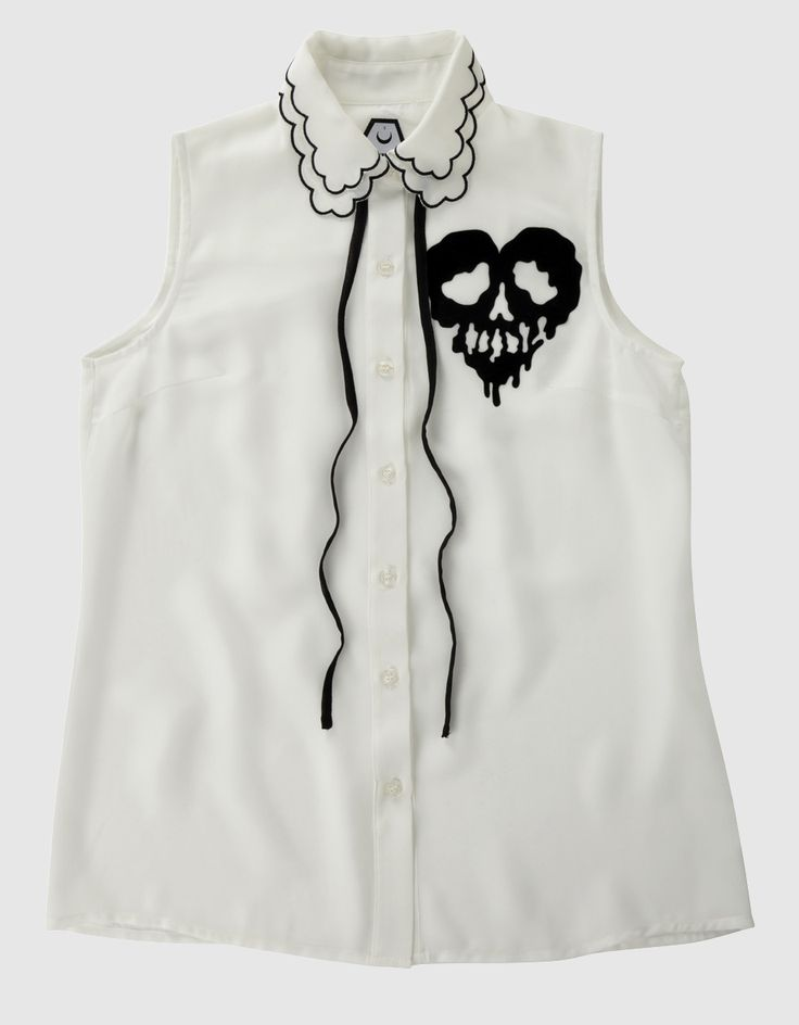 Buy Skull Fucked Sleeveless Shirt at Drop Dead Clothing