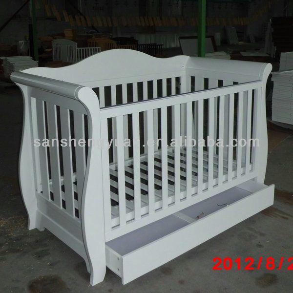 Wooden nursery furniture /wooden baby cot $120~$140