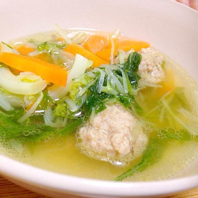 旨し!肉団子スープ! - 10件のもぐもぐ - 肉団子スープ by alohamahaloy