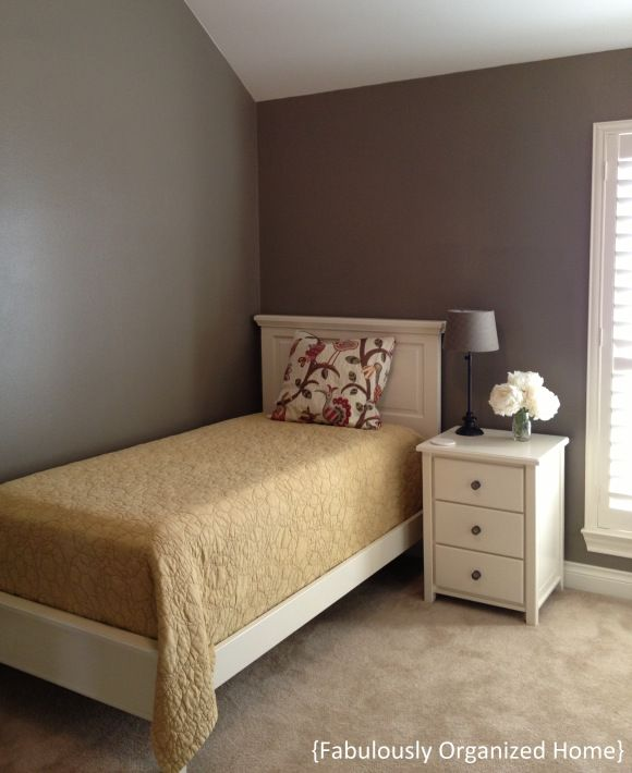 Warm Stone Sherwin Williams Home Guest Bedrooms