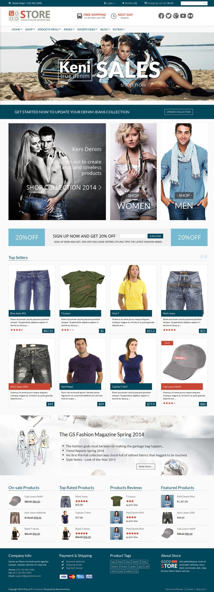 GoodStore from ThemeForest - a stunning wordpress theme.