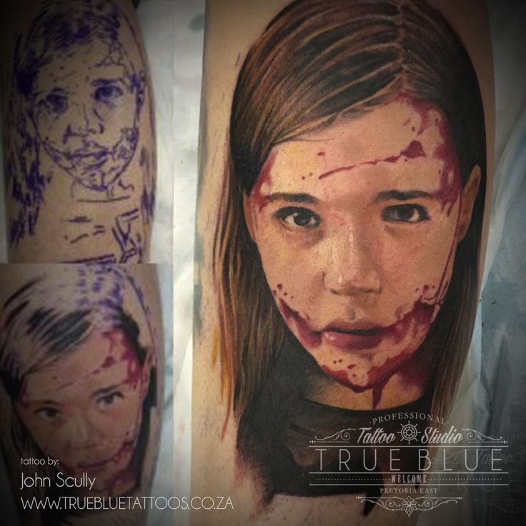 """""""Let Me In"""" piece by John Scully of True Blue Professional Tattoo Studio"""