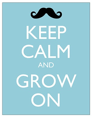 Keep calm and grow on #Movember  Learn more about cancer services at Doylestown Hospital at: http://www.dh.org/cancer?utm_source=pinterest&utm_medium=referral&utm_campaign=movember