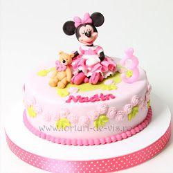 Torturi - Viorica's cakes: Mickey si prietenii