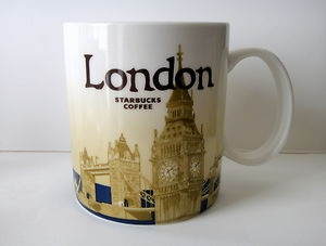 Starbucks London Mug!! Ok, who's making a trip to London that can grab one of these for me?? ;)