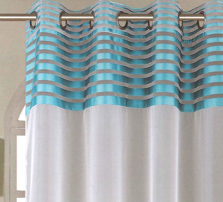 Add a splash of colour with the Moda Aqua Voile Curtain Panel. The vertical metallic stripe will shimmer beautifully in the light and compliment the white fabric drop. The addition of stainless steel eyelets ensure that this voile is an ideal choice for any contemporary living space. It is available in a range of lengths and widths, with prices starting from £5.99.