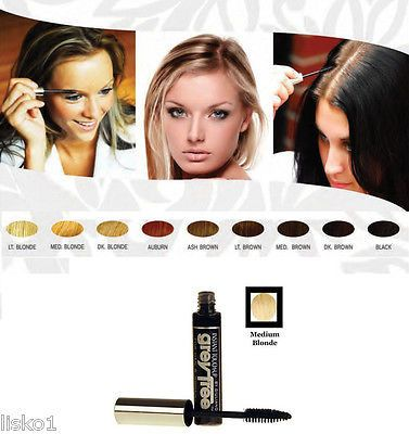 GreyFree Professional Instant Non Permanent Hair Color Touch Up_ MED BLONDE