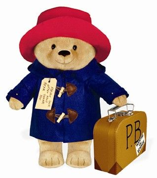 Paddington Bear- he was a favorite of mine when I was little and still is. I still have the set of Paddington books that my mom read to me when I was a little girl.