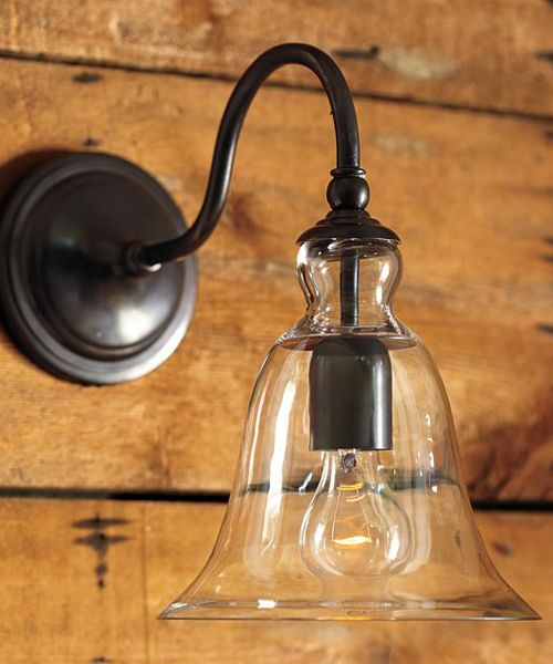 rustic vanity light