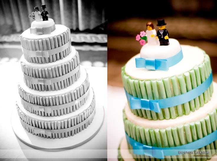 Granite Club wedding cake