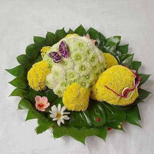 arreglos florales creativos, eco regalos                                                                                                                                                     Más