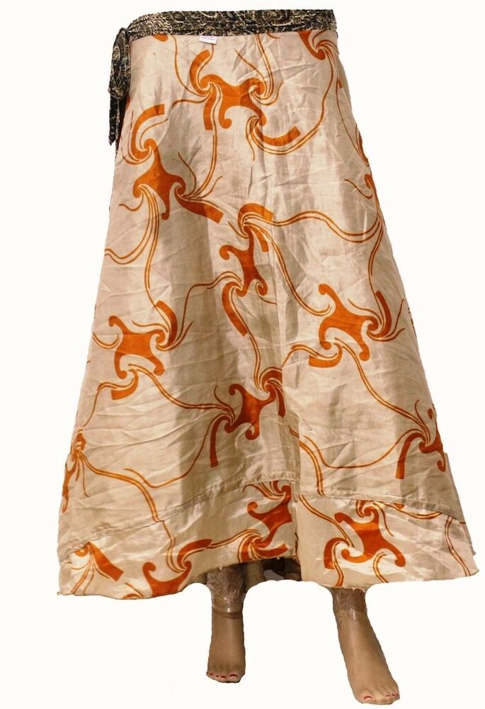 88aa5b0715ce Indian Floral Long Wrap Skirt Vintage Handmade Silk Saree 36' Tube Dress  2017 #fashion #clothing #shoes #accessories #womensclothing #skirts (ebay  link)