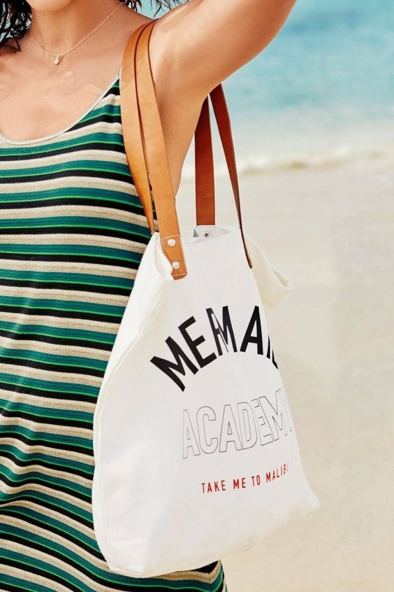"Next Shopper-Tasche aus Segeltuch ""Mermaid Academy"""