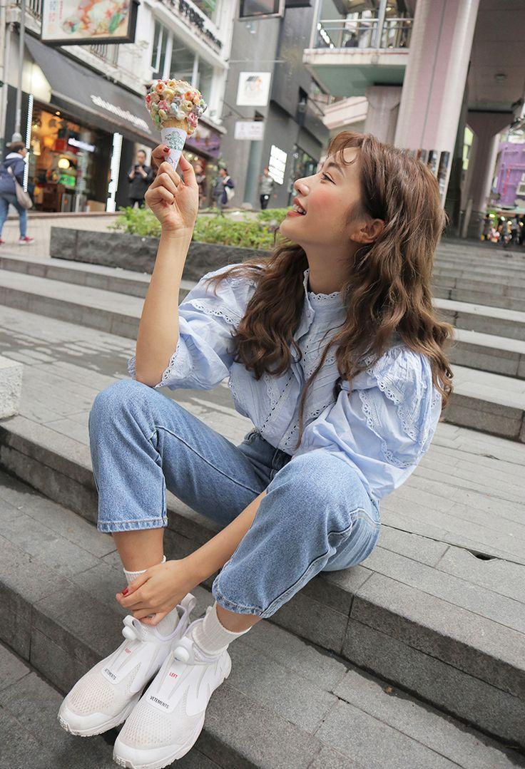 korea daily style #stylenanda2017 #parksora