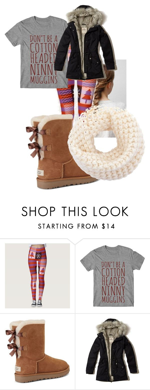 It's the most wonderful time of the year by looking-fly on Polyvore featuring Hollister Co. and UGG