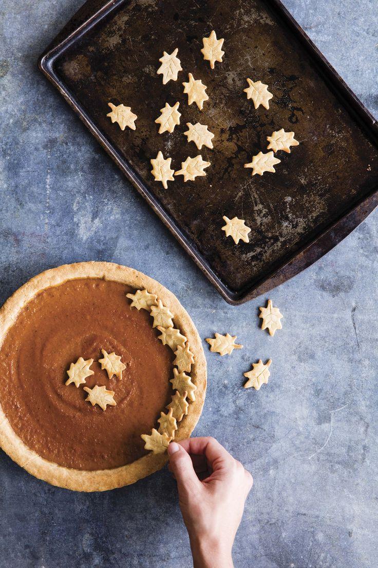 Maple Pumpkin Pie | From the cookbook Danielle Walker's Against all Grain Celebrations, page 234 | PC Erin Kunkel