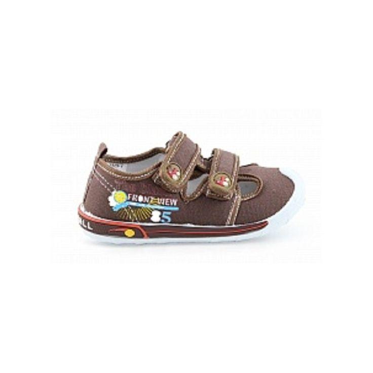 Полуботинки коричневые детские Sursil-Ortho