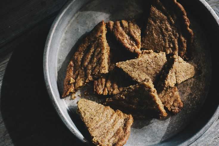 Coffee and Cardamom Shortbread // Sprouted Kitchen