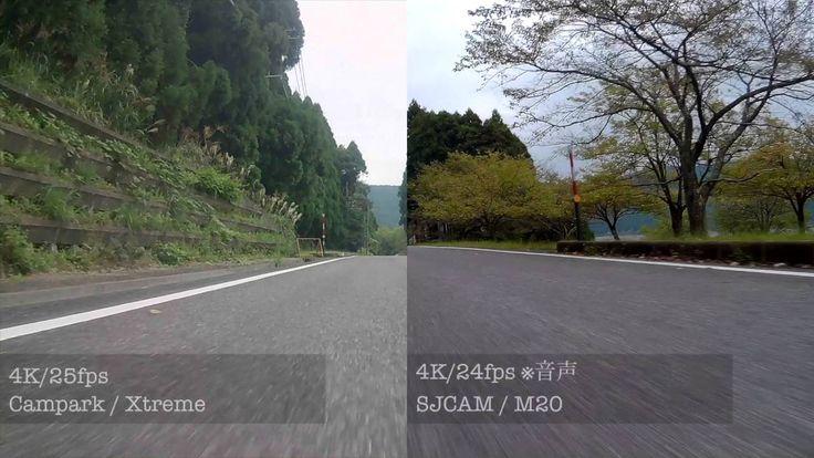 Campark Xtreme スポーツアクションカメラ 4K25fps 170度広角 30m防水 日本語対応 01録画テスト