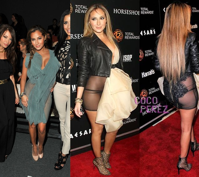 Celebs Taking Risque Chances in Sheer Dresses (Ashanti and ...
