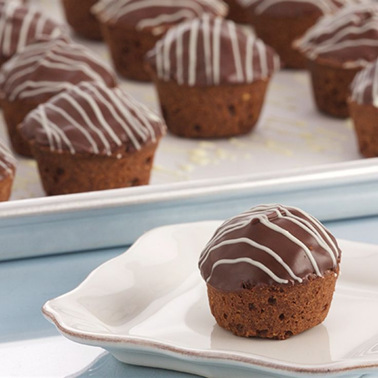 Try this Mini Chocolate Hazelnut Friands recipe by Chef Anna Olson. This recipe is from the show Bake With Anna.