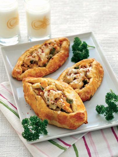 Enginarlı ve tavuklu pide Tarifi - Türk Mutfağı Yemekleri - Yemek Tarifleri