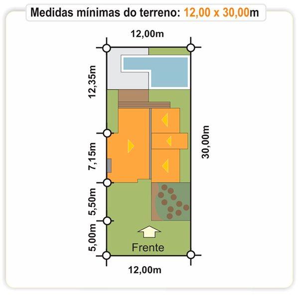 205 - terreno plantas de casas