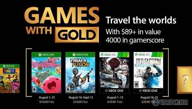 Los usuarios con la suscripción a Xbox Live Gold podrán disfruta del clásico de culto Bayonettapara Xbox 360 durante la primera quincena del mes de agosto que se puede disfrutar también en Xbox One gracias a ese regalo llamado retrocompatibilidad. Esta es la oportunidad idónea para los que todavía no hayan podido probar uno de los mejores juegos de la pasada generación y si nos apuráis podríamos decir que de la historia.  También para Xbox 360 tendremos el shooter Red Faction: Armageddon…