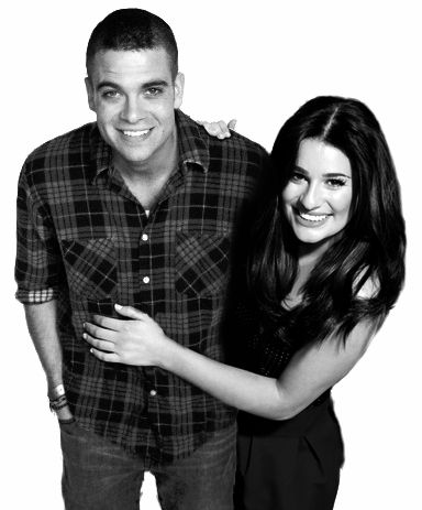 glee mark and lea dating