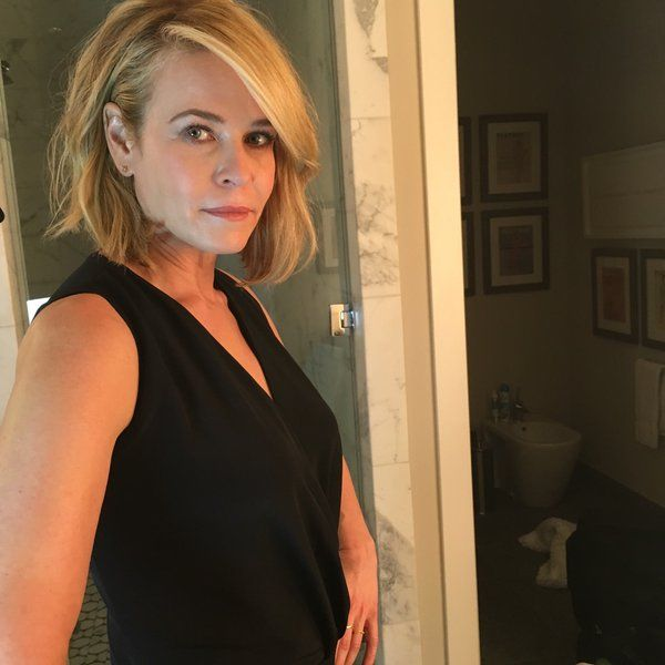 Chelsea Handler and her bidet