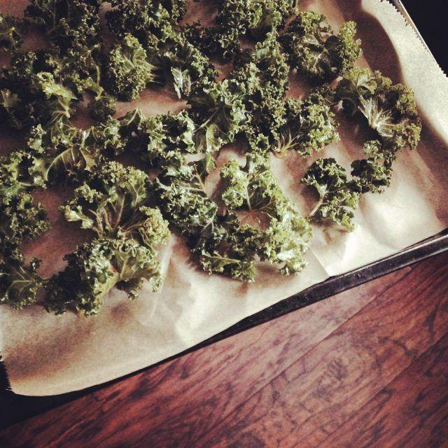 kale chips! <3