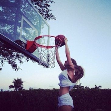 138 best basketball images on pinterest basketball outfits girls can play basketball just like boys ccuart Images