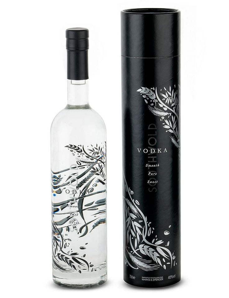 Southwold Premium Vodka from Adnams Copper House Distillery especially designed for Marks and Spencer.