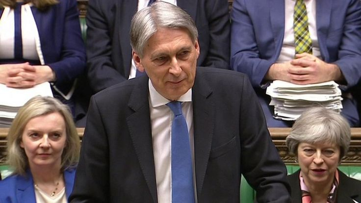 Philip Hammond says economic forecasts are there to be beaten