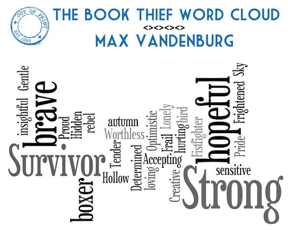 best book thief images the book thief book the book thief word cloud describes the character of max perfectly
