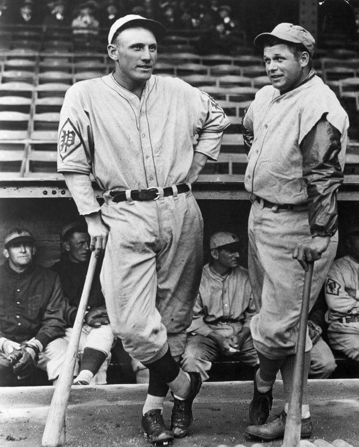 Brotherly love:  the two greatest sluggers in Philadelphia during the 1930s, Chuck Klein and Jimmie Foxx.