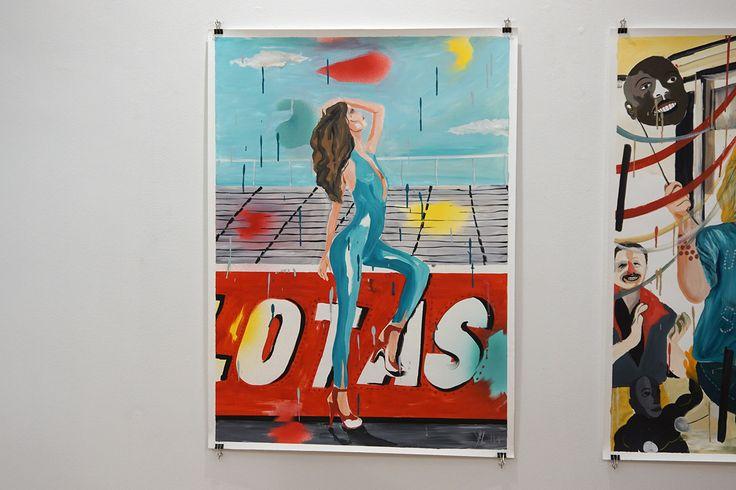 """""""Pelotas"""", Yann Leto. Exposición colecctiva """"Ultraviolence"""" Galería Cámara Oscura #Madrid #Arte #Artecontemporáneo #ContemporaryArt https://twitter.com/arterecord"""
