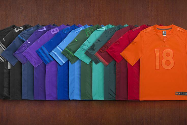 Nike x NFL (monochromatic)