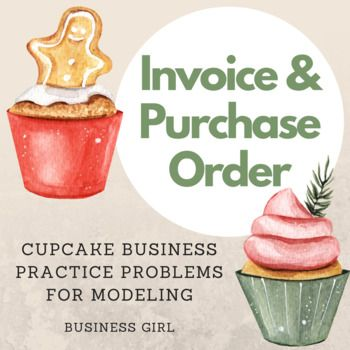 Appeal to your students' sweet tooth by modeling how to complete an invoice and purchase order for a cupcake business. This activity is in Microsoft PowerPoint and provides step-by-step instructions to complete each of these two documents based on the scenario of a cupcake business. The PowerPoint contains mathematical totals that appear with animations after you've had time to share the thinking behind these answers or to allow time for students to calculate these totals on their own.