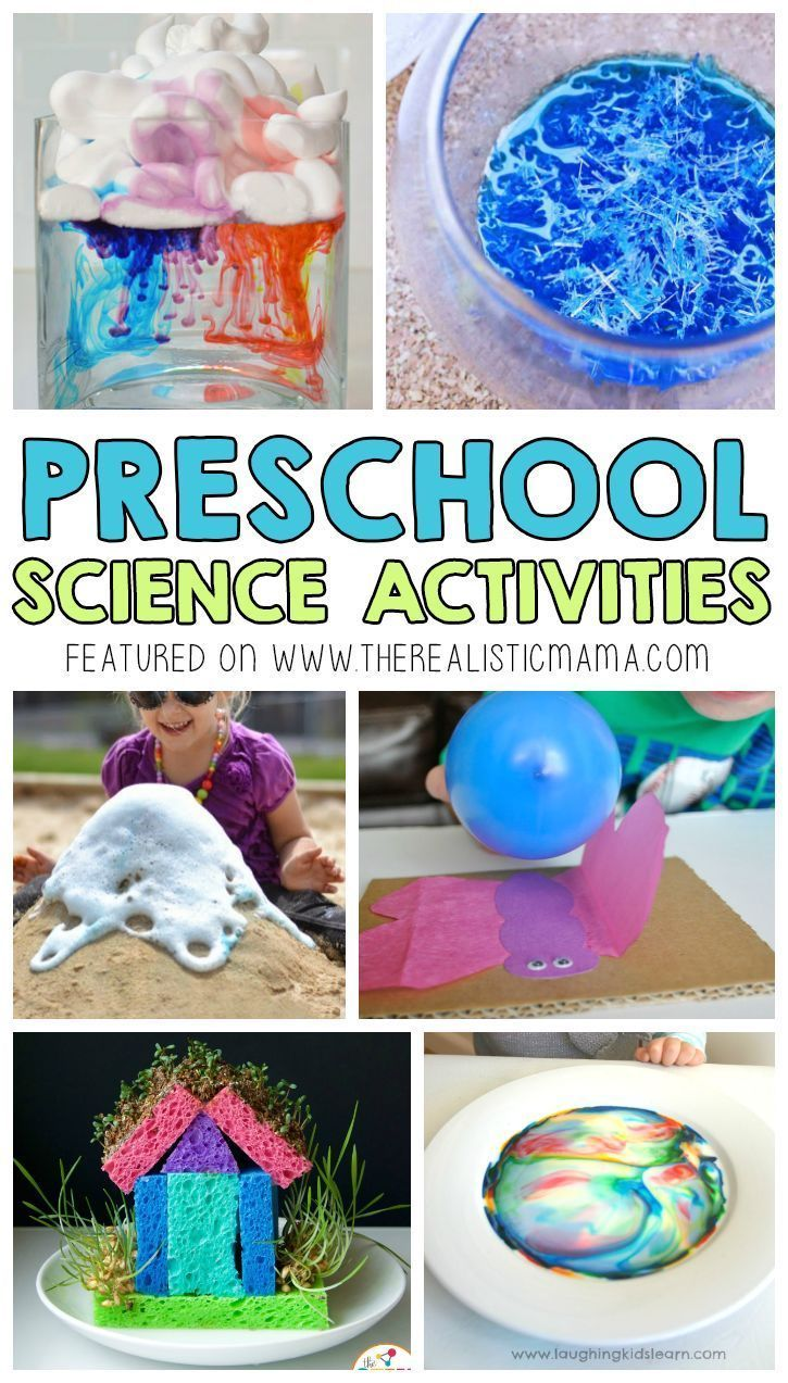 Easy science projects for preschoolers! Your preschooler will love these cool DIY activities.
