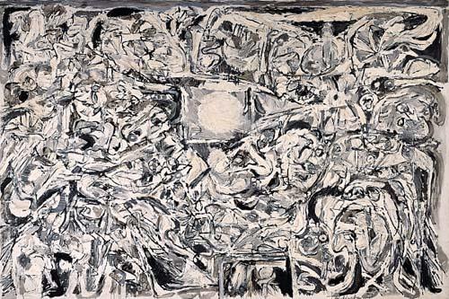 Pierre Alechinsky, Le monde perdu, 1959