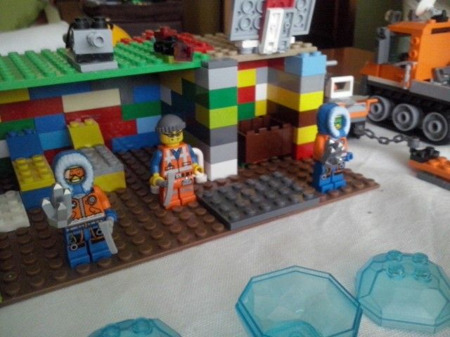 Lego Artic. Base esquimal