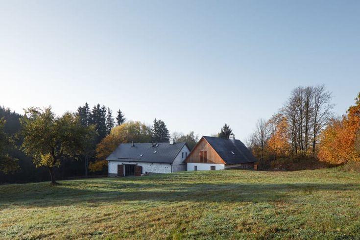 LENKA MÍKOVÁ, BoysPlayNice · Two houses, deers and trees