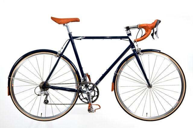 Bill Amberg Studio x Charge   Special edition road bike