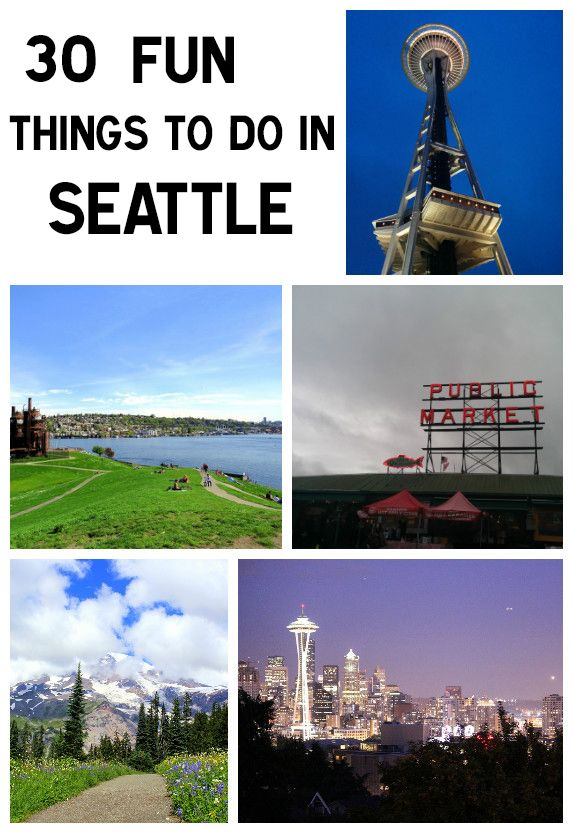 Top 30 Awesome Things To Do In Seattle, The Emerald City