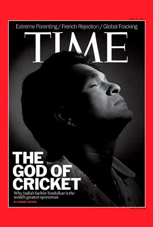 """#Sachin Tendulkar is """"the world's best athlete"""", says Time Magazine ----Mumbai: May 11, 2012     Sachin Tendulkar's super-human feats have earned him the title of """"The God of Cricket"""" from his fans around the world. Time magazine's latest issue – which is scheduled to go on the stands on May 11, 2012 - features him on the cover with the same title. This is the second time he would feature on Time's cover – the first time being in the year 1999."""