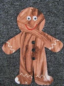 gingerbread preschool craft